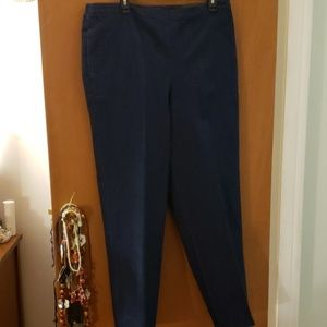 NWT Women's Alfred Dunner Denim Pants SZ 18
